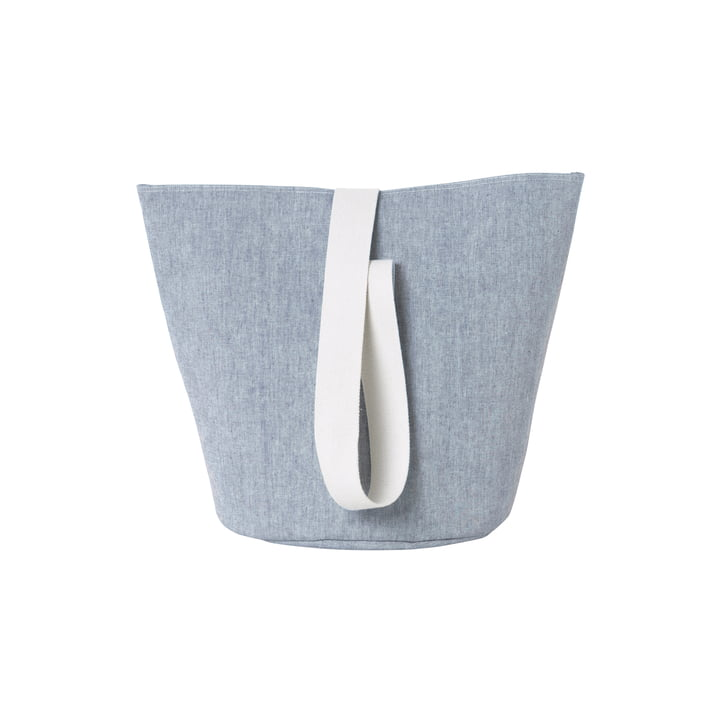 Chambray Basket Medium von ferm Living in Blau
