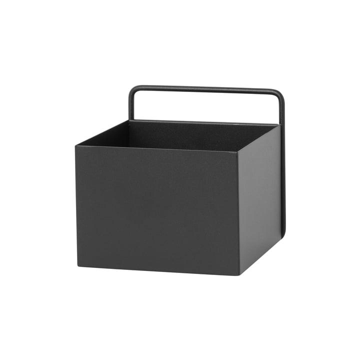 Wall Box quadratisch von ferm Living in Schwarz