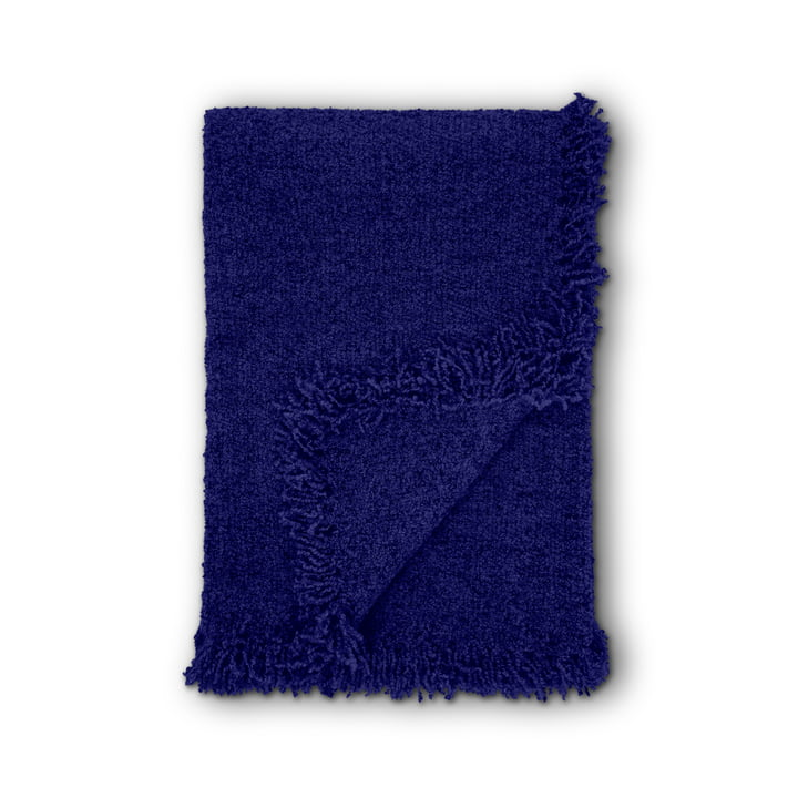 Boucle Decke 140 x 200 cm von Tom Dixon in Electric Blue