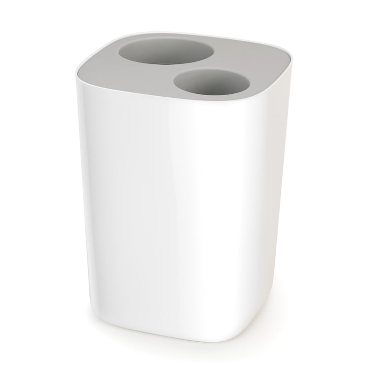 Split Badezimmer Abfall-Trenner von Joseph Joseph in Grau