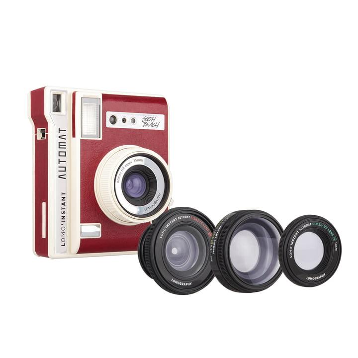 Lomo'Instant Automat Sofortbildkamera + Objektivaufsätze von Lomography in South Beach