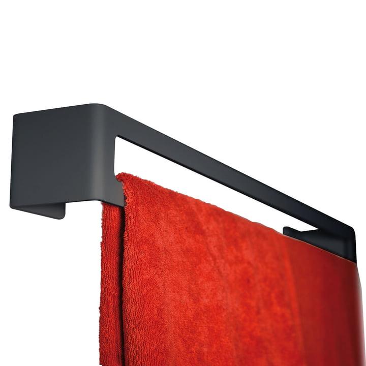 Puro Handtuchhalter (Wand) von Radius Design in Schwarz