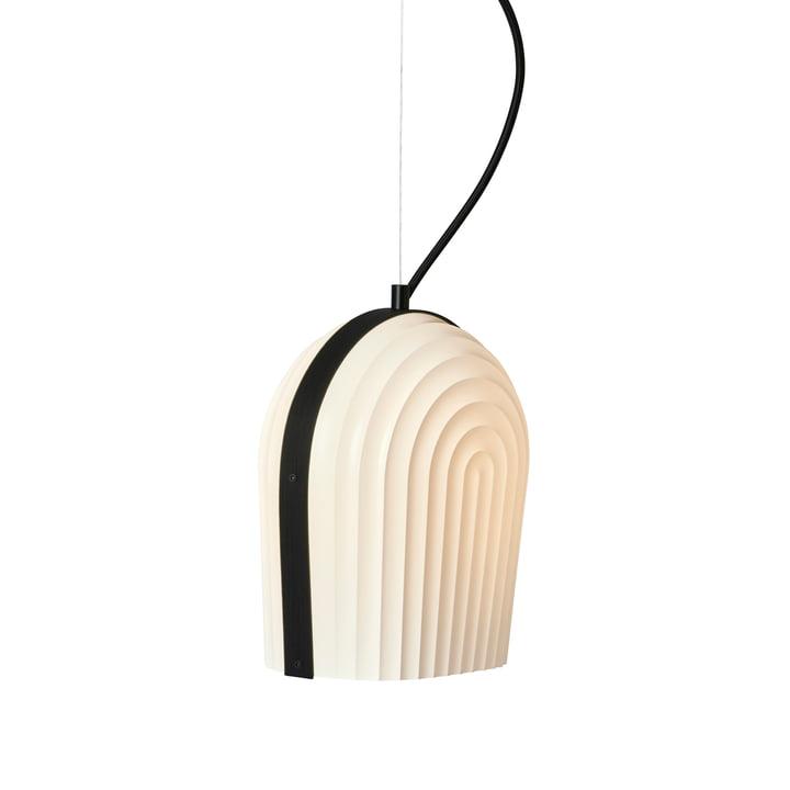ARC Pendelleuchte von Le Klint in Eiche Schwarz / Lampenschirm Weiß