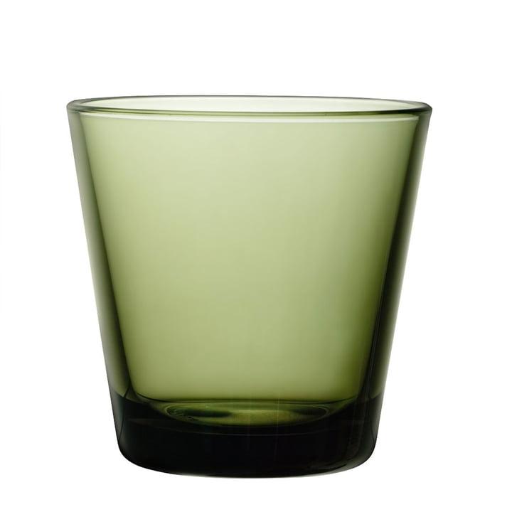 Iittala - Kartio Trinkglas 21 cl, moosgrün