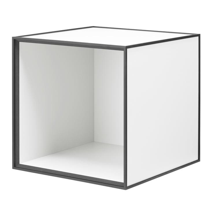Frame Wandschrank 35 von by Lassen in Weiß