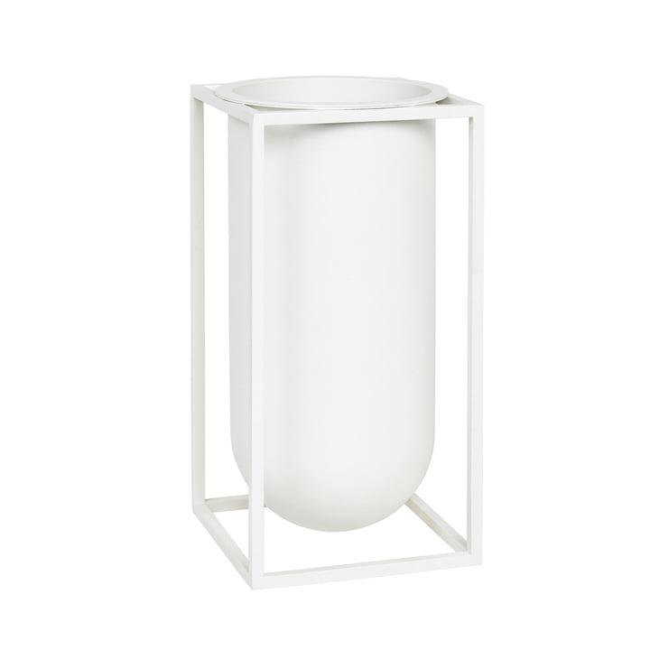 Kubus Vase Lolo von by Lassen in Weiß