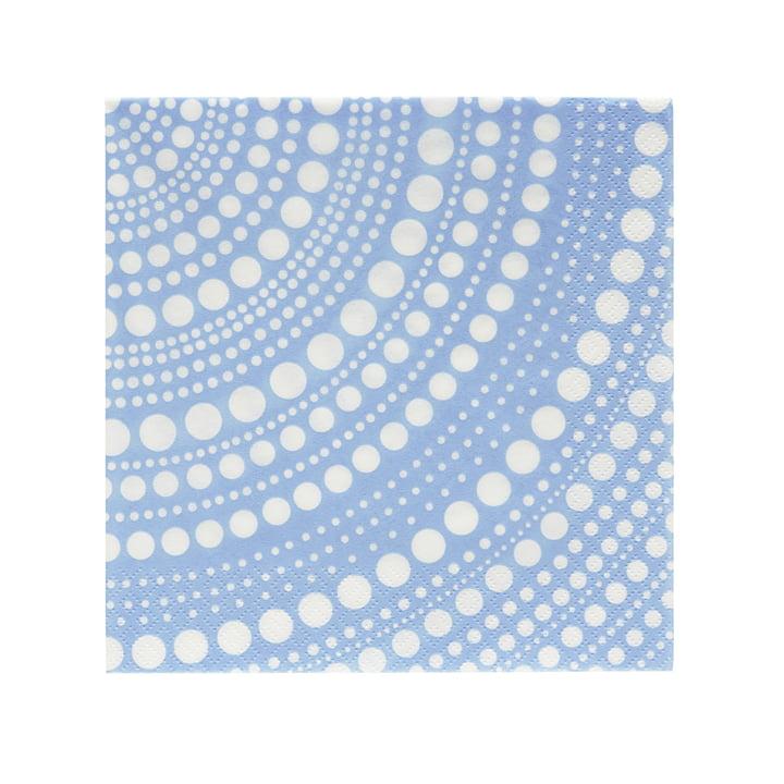 Kastehelmi Papierserviette 33 x 33 cm von Iittala in Aqua