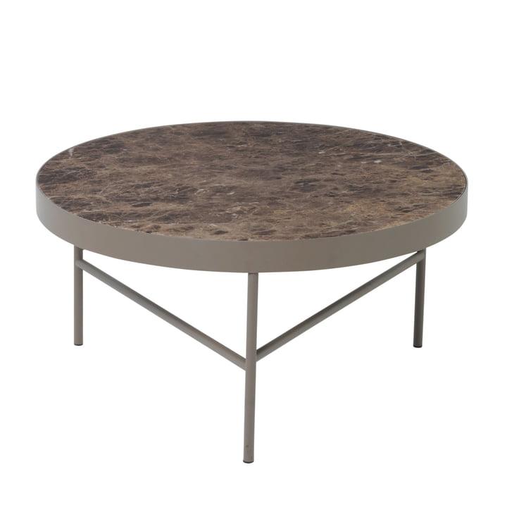 ferm Living - Marble Table groß, braun