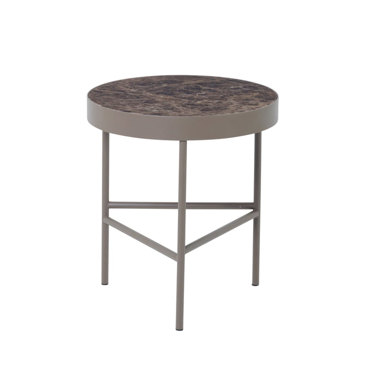 ferm Living - Marble Table medium, braun