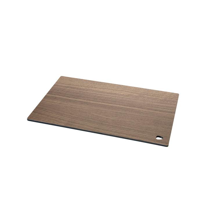 Cut&Serve Schneidebrett Square S 25 x 16 cm von LindDNA in Walnuss