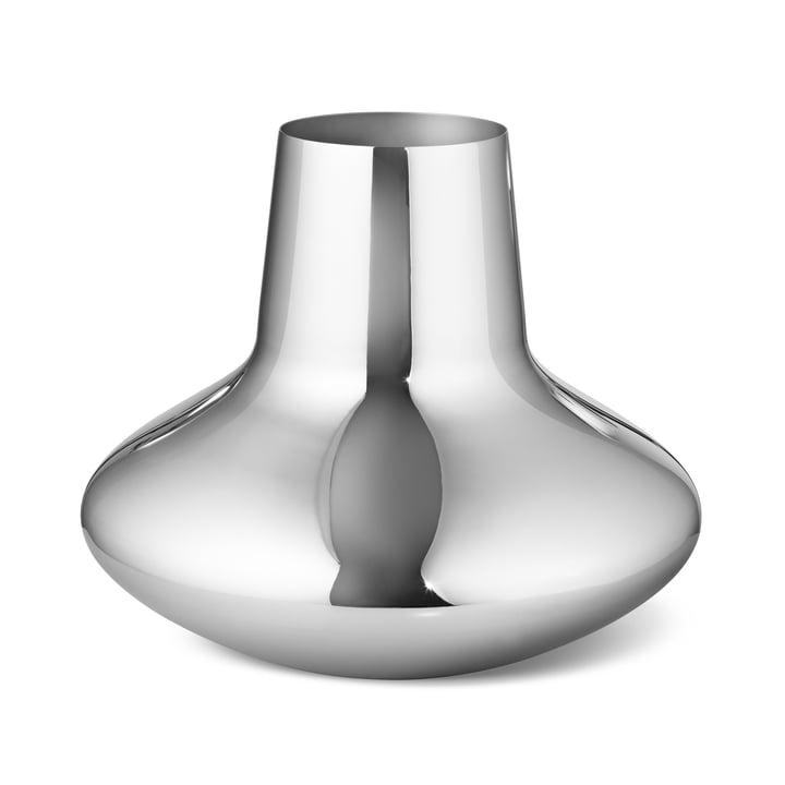 Die Georg Jensen - Henning Koppel Vase large, Edelstahl poliert