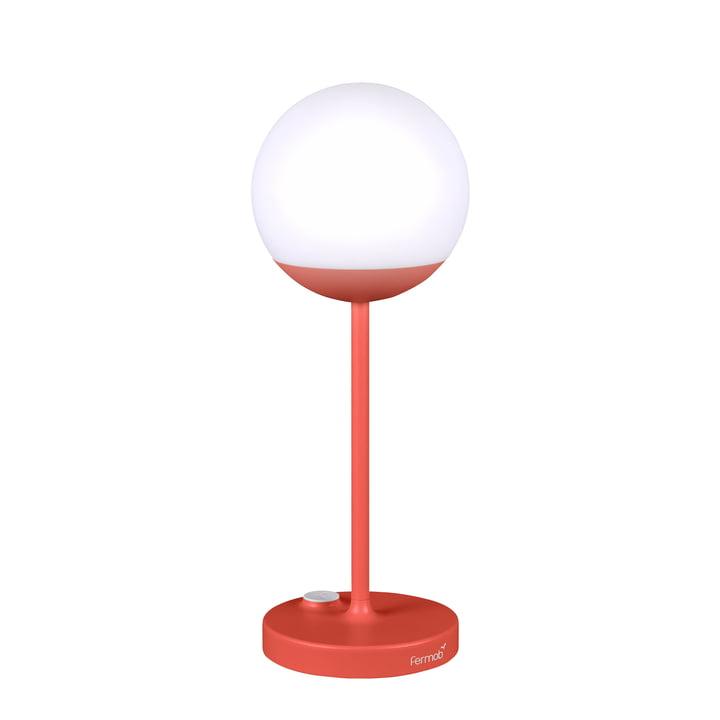 Mooon! Akku LED-Leuchte H 40 cm von Fermob in Capucine