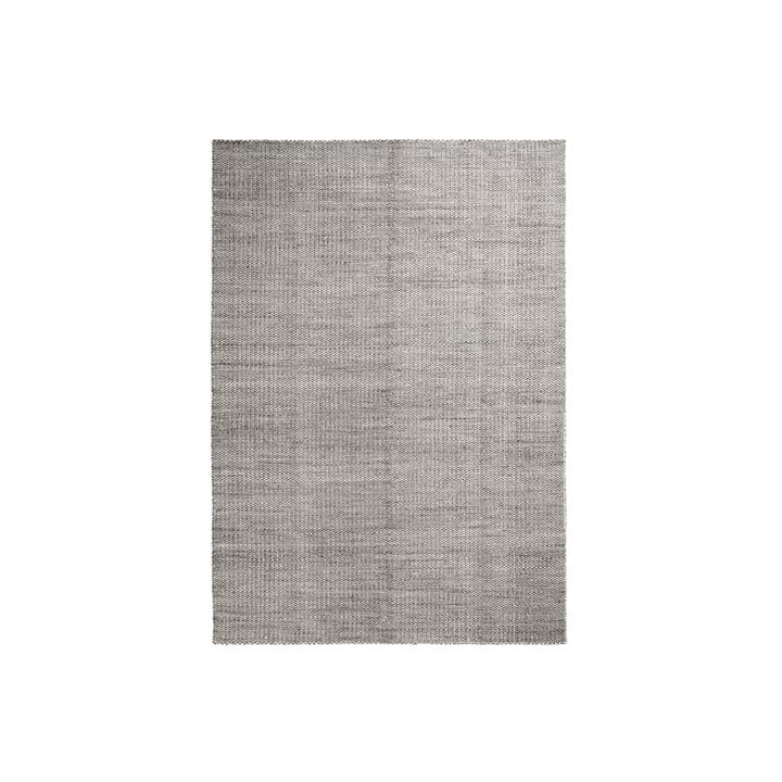 Der Hay - Moiré Kelim Teppich, 140 x 200 cm, grau
