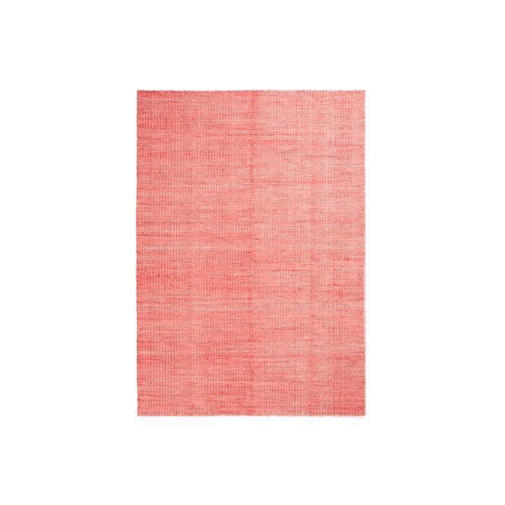 Der Hay - Moiré Kelim Teppich, 140 x 200 cm, coral