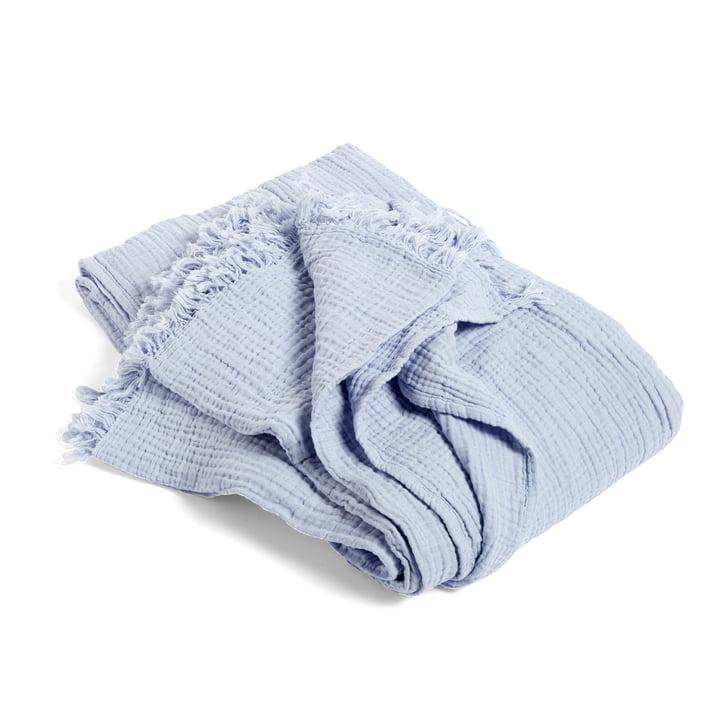 Die Hay - Crinkle Bedspread Tagesdecke, hellblau