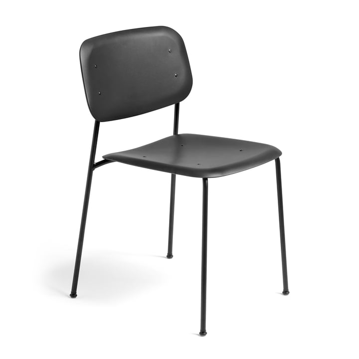 Hay - Soft Edge P10 Stuhl, schwarz