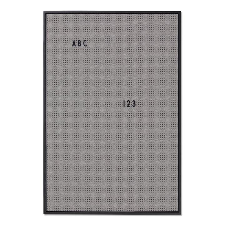 Das Design Letters - Message Board A2, dunkelgrau