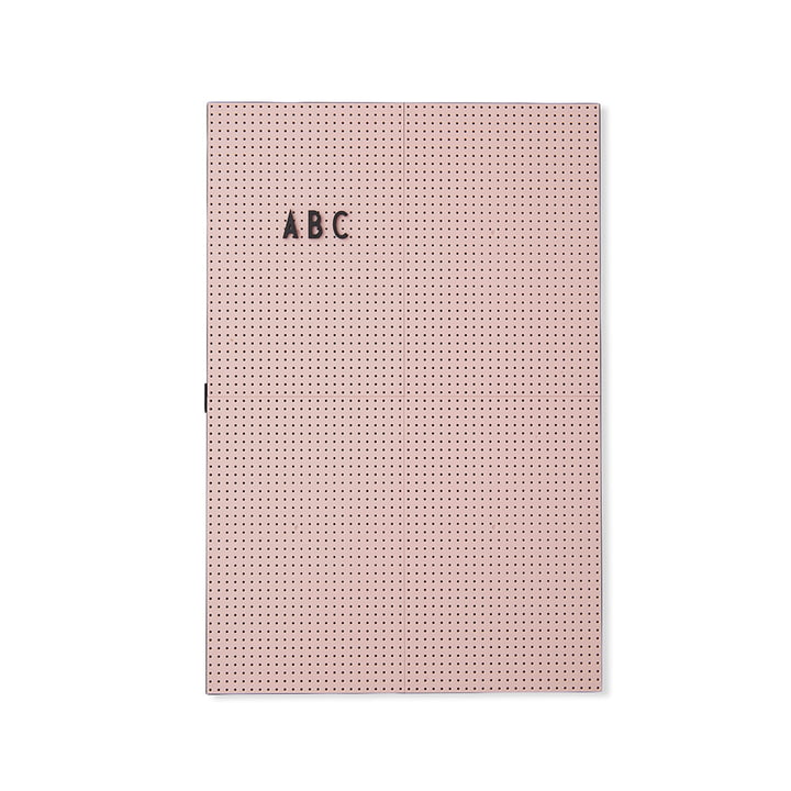 Das Design Letters - Message Board A3, pink