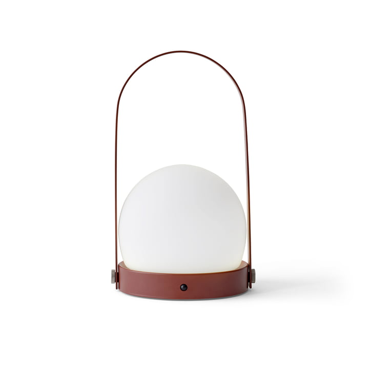 Carrie LED Lamp von Menu in Burned Red