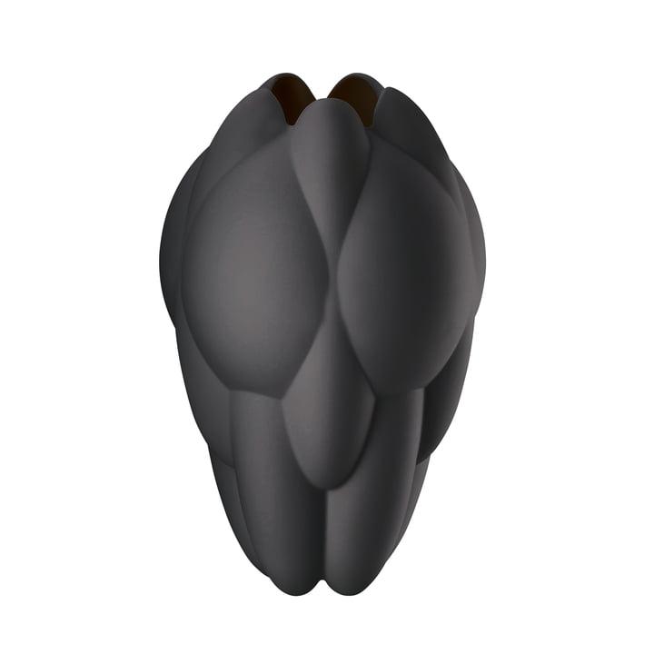 Core Vase H 25 cm von Rosenthal in Schwarz