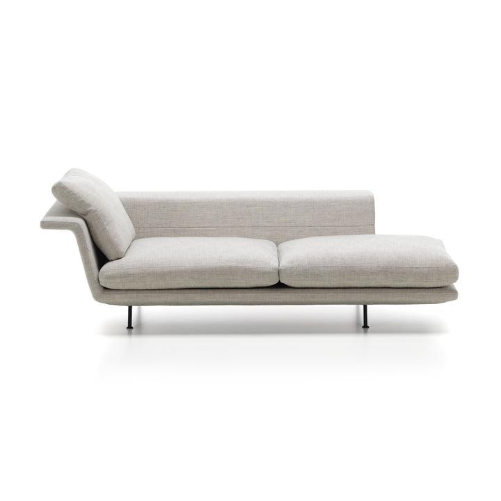 Grand Sofa von Vitra als Chaiselongue ohne Heftung in Beige