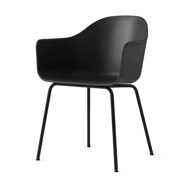 Harbour Chair (Stahl) von Menu in Schwarz