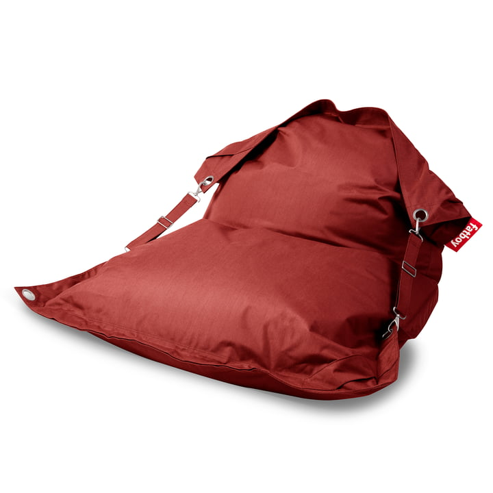 Der Fatboy - Buggle-up Outdoor-Sitzsack, rot