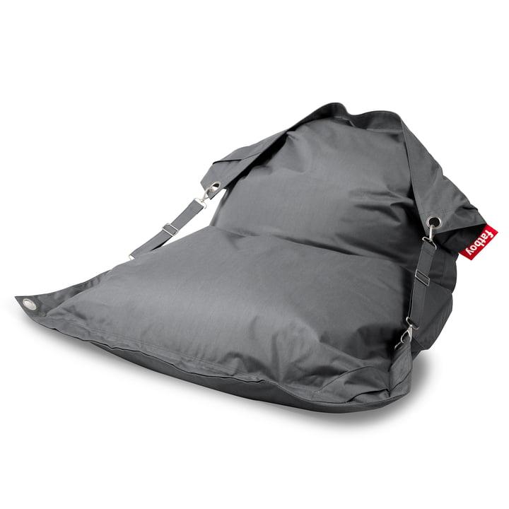 Der Fatboy - Buggle-up Outdoor-Sitzsack, grau