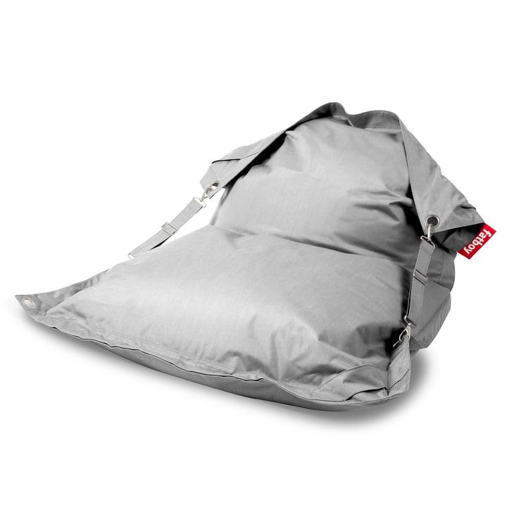 Der Fatboy - Buggle-up Sitzsack, silber