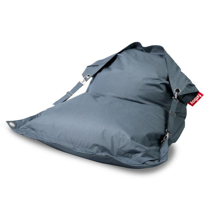 Der Fatboy - Buggle-up Outdoor-Sitzsack, steel blue