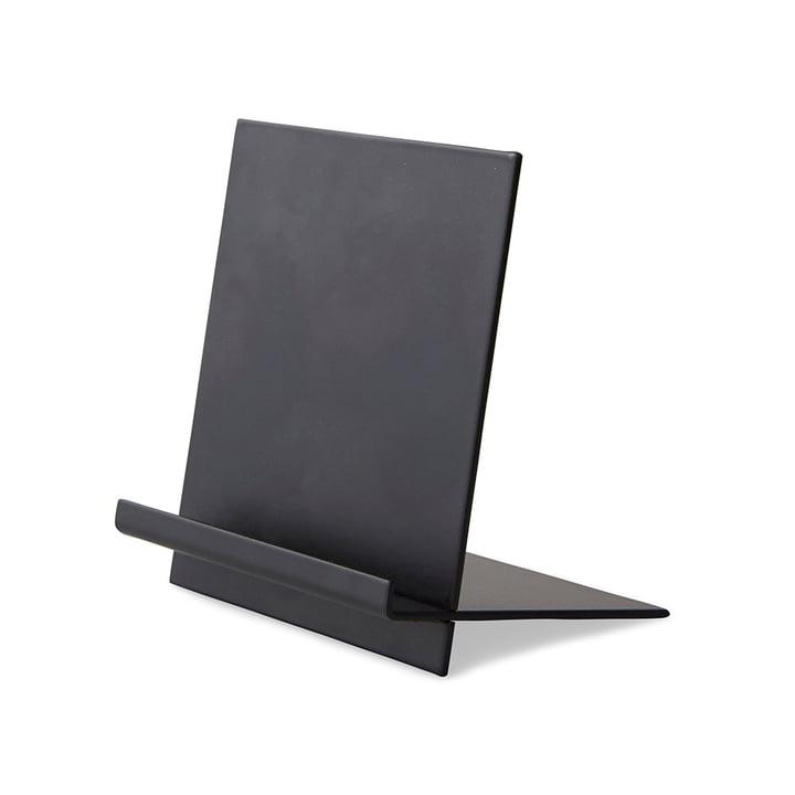 Halter für Nachrichtentafel von Design Letters in Schwarz