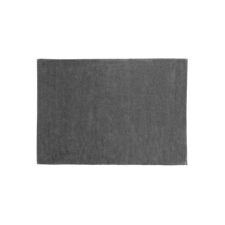 Der Hay - Raw Teppich 2, 140 x 200 cm, dunkelgrau