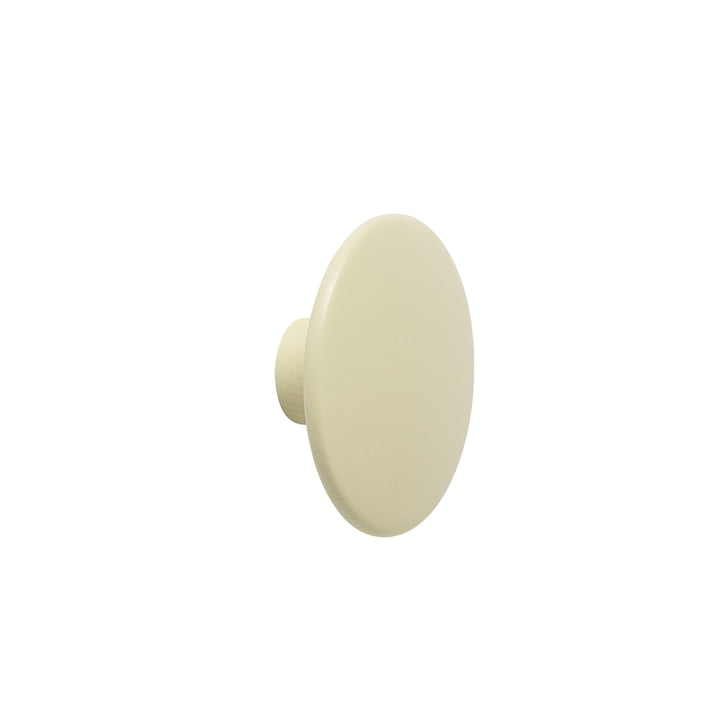 "Muuto - Wandhaken ""The Dots"" single small, beige-grün"