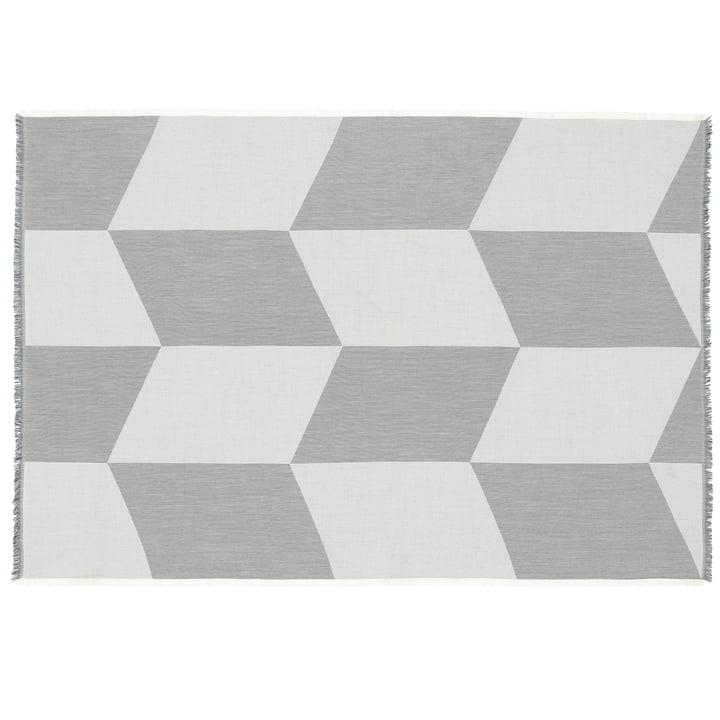 Sway Wolldecke von Muuto in schwarz / weiß