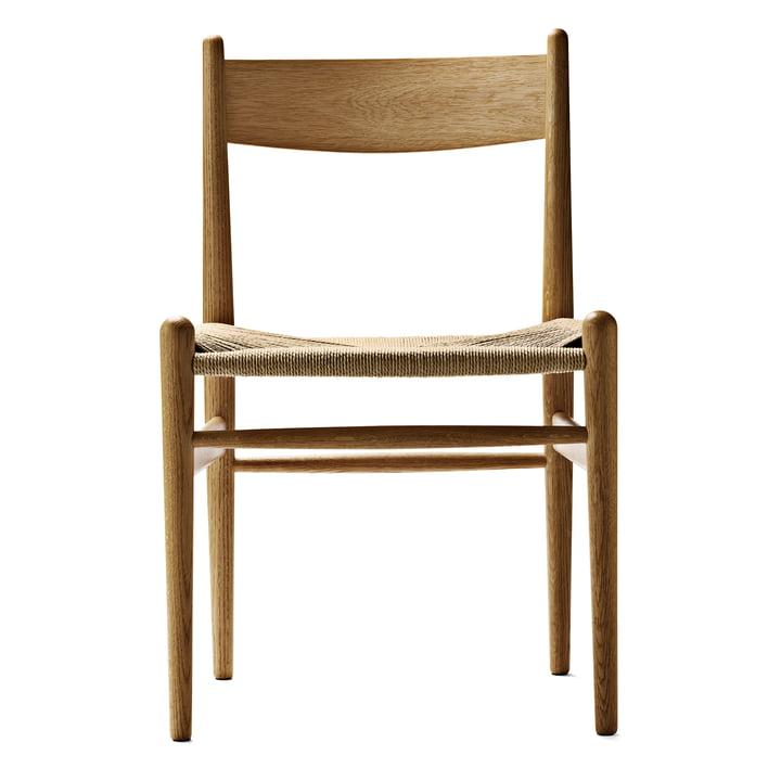 Der Carl Hansen - CH36 Chair, Eiche geölt / Naturgeflecht
