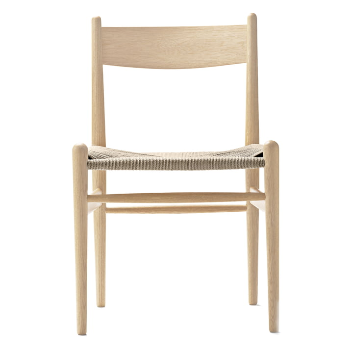 Der Carl Hansen - CH36 Chair, Eiche geseift / Naturgeflecht
