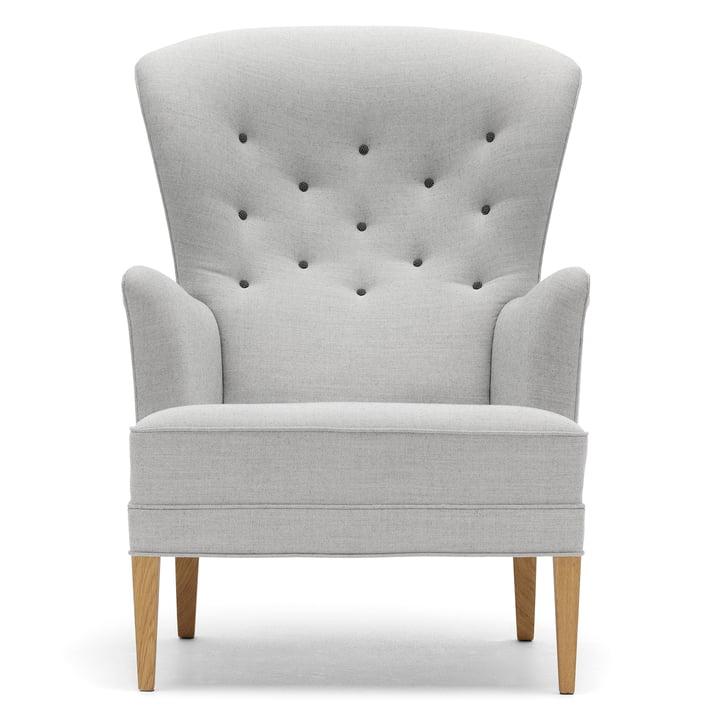 Der Carl Hansen - FH419 Heritage Chair, Eiche geölt / Canvas 124 (Knöpfe Hallingdal 126)