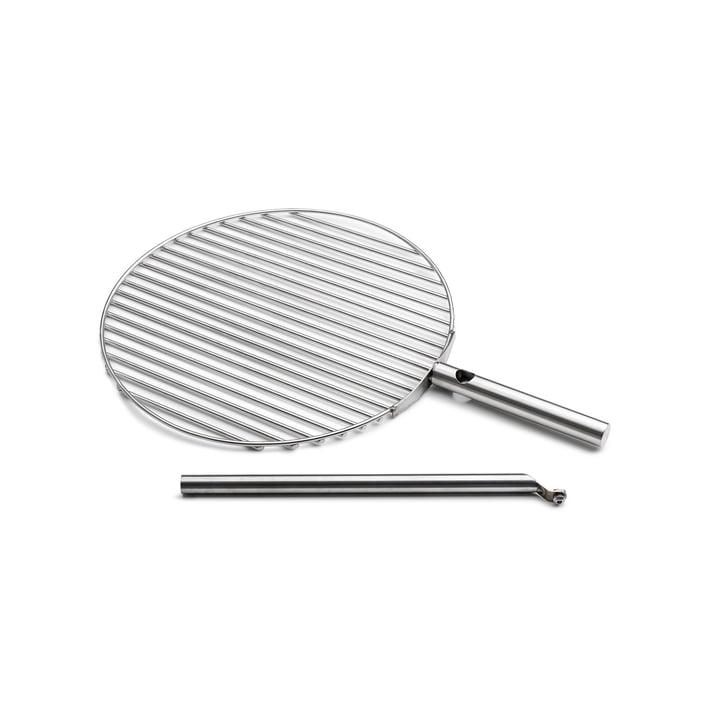 Das höfats - Triple Grillrost Ø 45 cm, Edelstahl