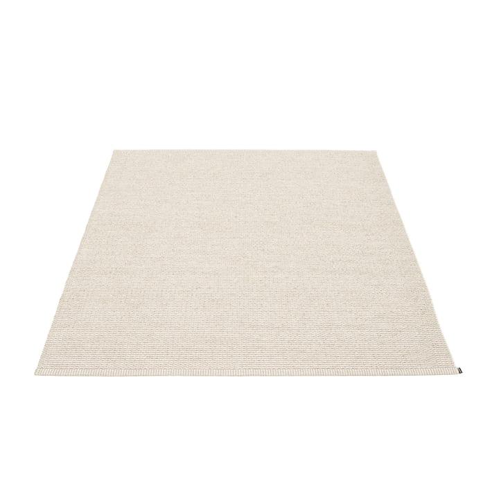 Mono Teppich 140 x 200 cm von Pappelina in Linen / Vanilla
