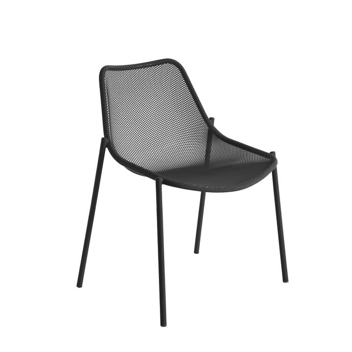 Der Emu - Round Stuhl, antikeisen