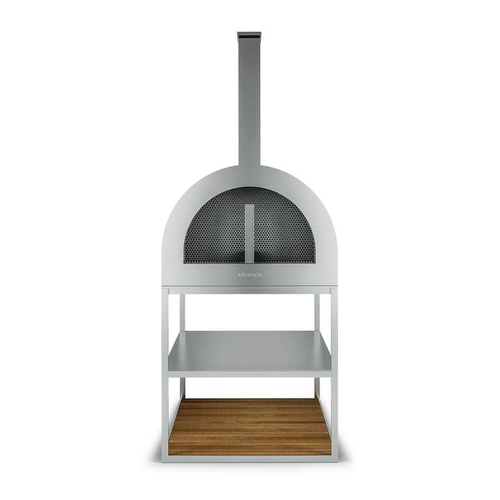 Der Röshults - BBQ Wood Ofen, Edelstahl