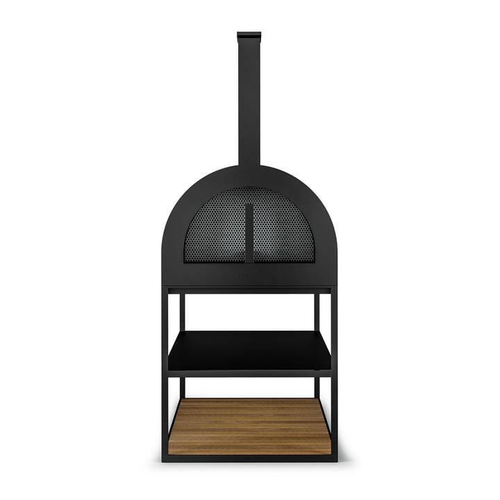 Der Röshults - BBQ Wood Ofen, anthrazit