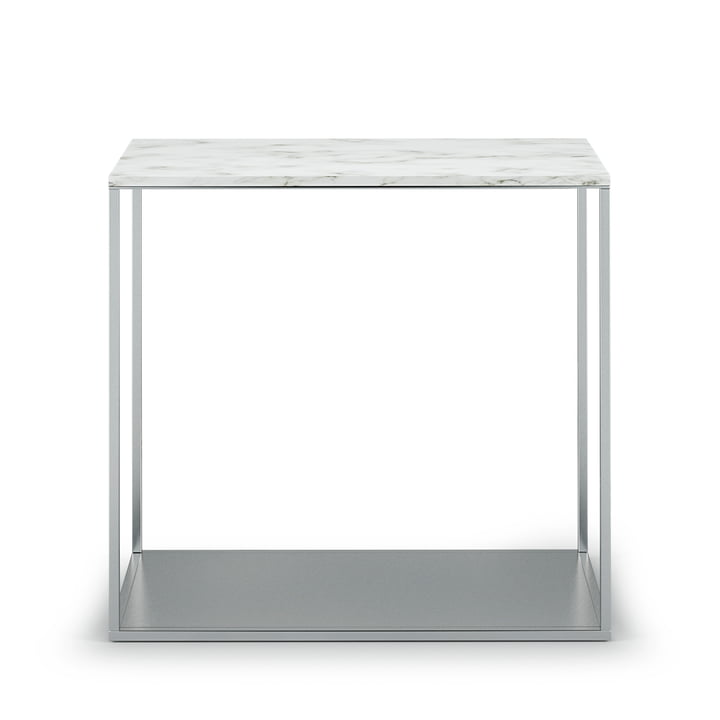 Der Röshults - York Sidetable H 47,5 cm, 50 x 25 cm, Marmor