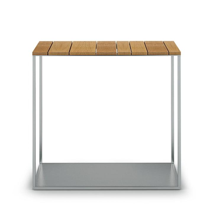 Der Röshults - York Beistelltisch H 47,5 cm, 50 x 25 cm, Teak