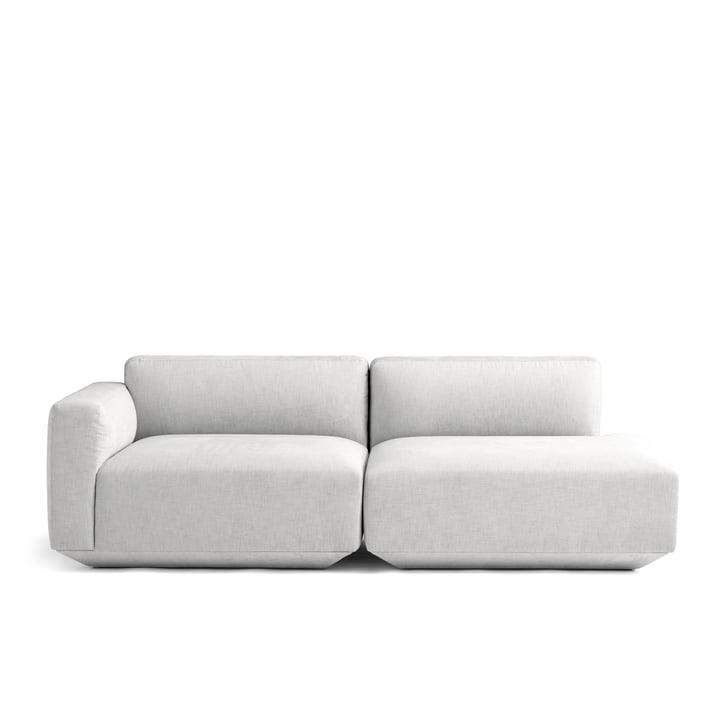 Develius 2-Sitzer Sofa Konfiguration G von &Tradition in Kvadrat Maple 112