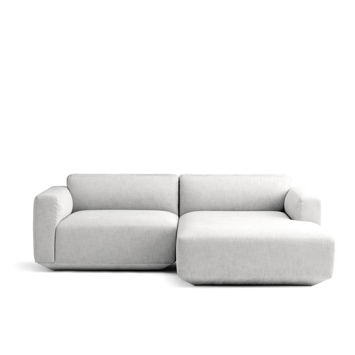 Develius Eck-Sofa Konfiguration B von &Tradition in Kvadrat Maple 112