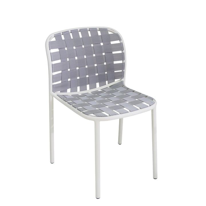 Der Emu - Yard Stuhl, weiß / grau