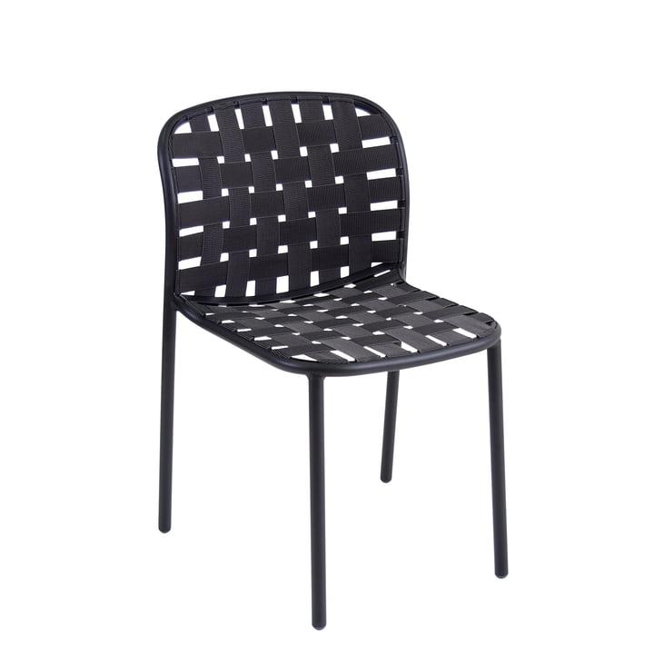 Der Emu - Yard Stuhl, schwarz / grau