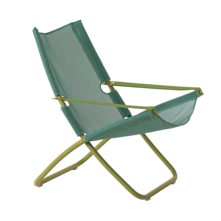 Snooze Liegestuhl von Emu in grün / mint