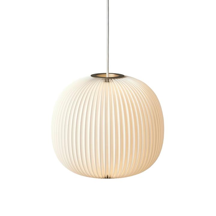 Le Klint - Lamella 3 Pendelleuchte, gold / weiß